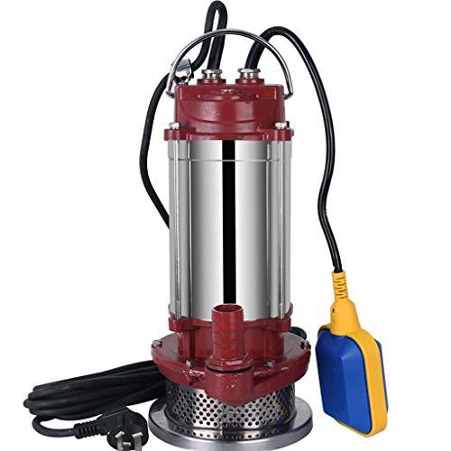 RKY Bomba de agua Bomba sumergible de acero inoxidable 220 V bomba de agua agrícola doméstica pequeña máquina de bombeo bomba autocebante bomba de agua clara granja riego /-/ (Tamaño : 150W(F))