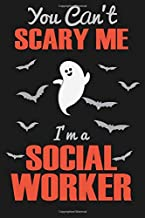 You can't scary me I'm a Social Worker: Funny Halloween Gift For social Worker, Social Worker Gifts, Gifts For Social Work...