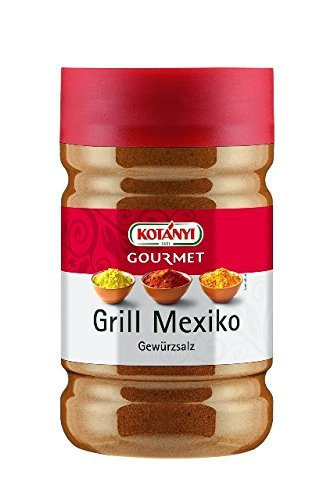Kotanyi Grill Mexico Gewürzzubereitung Gewürze für Großverbraucher und Gastronomie, 893 g