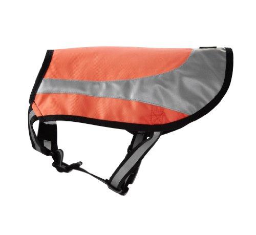 Hurtta Lifeguard Twilight Weste Neonorange - Größe 35