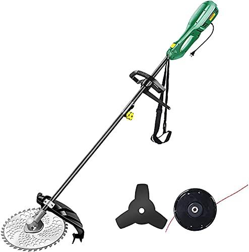 wsbdking Cortacésped eléctrico, Corte de Plug-in Weeder, Herramientas de jardinería para Personas...