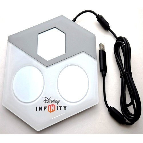 Simply Silver – New Disney Infinity Figure Reader Portal Game Arena Wii-U/PS3/PS4 3.0 2.0