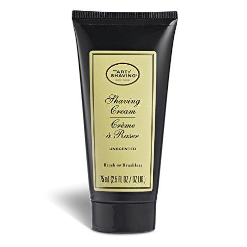 The Art of Shaving Shaving Cream Tube, Unscented, 2.5 Fl Oz
