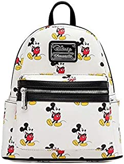 x Mickey All Over Mini Backpack