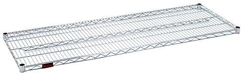 "Eagle 3048C Wire Shelf, Chrome Plated, 30"" W x 48"" L, 800 lb, Silver"