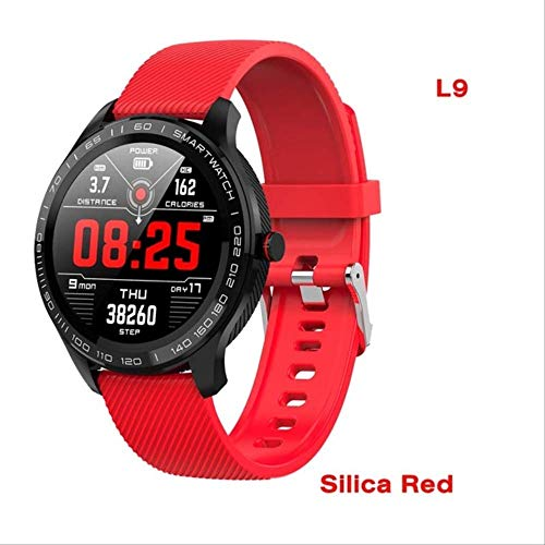 Smart Horloges Mannen Ecg Ppg Hartslag Bloeddruk Fitnesss Tracker Ip68 Waterdichte Bluetooth Business Smartwatch