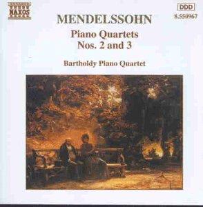 Mendelssohn Klavierquartette 2 und 3 Barthold