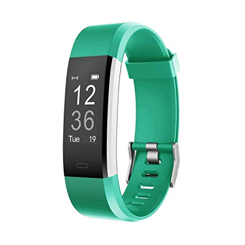 LETSCOM Fitness Tracker HR, Activity Tracker Watch with Heart Rate Monitor, IP67 Smart Bracelet with Step Counter, Calorie Counter, Pedometer Watch for Women and Men