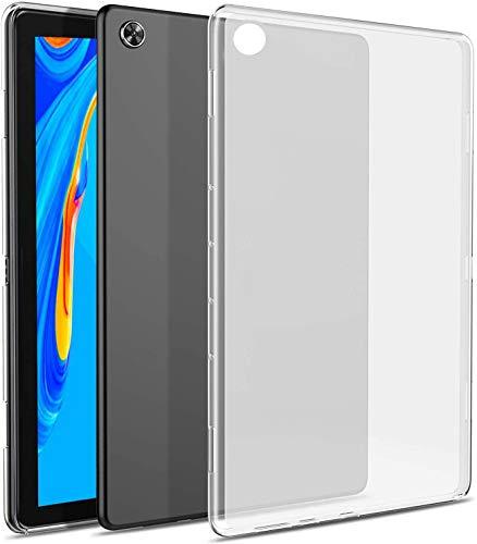 RLTech Funda Carcasa para Lenovo Tab M10 FHD Plus, Silicona TPU Flexible [Anti-rasguño] Funda Protectora Case Cover para Lenovo Tab M10 FHD Plus TB-X606F (2nd Gen) 10.3 Pulgada, Claro