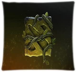 Alexander Comic Art Dota Logo Pillowcover Custom Best Case Two Side Soft Cover Pillow Stain Pillowcase 18x18inch