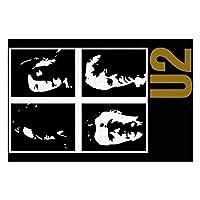 U2 バンド THE BAND 木製プレミアム品質1000ピースパズルmini puzzle 、知育学習玩具 子供玩具 男の子 女の子大人出産祝い お誕生日プレゼン 入園お祝い贈り物