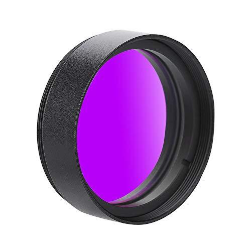 Oumij 1.25 Zoll UHC Filter für Teleskopokular, 31.7mm Teleskop UHC Filter Datyson Deep Sky Filter Kontrastreicher Filter für Astronomische Teleskop