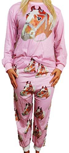 Toller Damen Schlafanzug Pyjama in den Größen 34-42 (38)