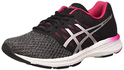 ASICS Damen Gel-Exalt 4 T7E5N/9793 Women Laufschuhe, Mehrfarbig Carbon Silver Cosmo Pink, 39.5 EU