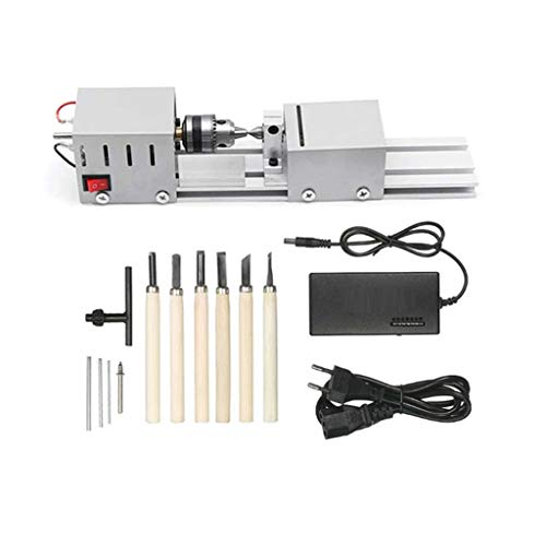 Affordable Gowersdee Mini Lathe Beads Polisher Machine DIY CNC Machining for Table Woodworking Wood ...