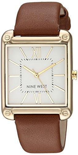 Nine West Reloj analógico para Mujeres de Cuarzo japonés NW/2116SVBN
