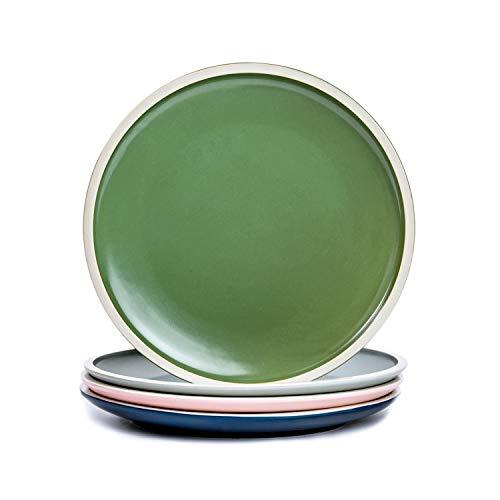 MattePorcelain Dessert Plates - 8 Inch - Set of 4