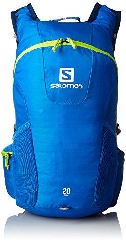 Salomon Unisex Rucksack Trail 20, Union Blue/Granny Green, 48 x 24 x 15 cm, 20 Liter, L37998200