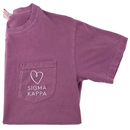 Sigma Kappa Love Pocket Tee (Small)