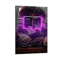 レッドフォール キャンバスポスター寝室の装飾スポーツ風景オフィスルームの装飾ギフト,キャンバスポスター壁アートの装飾リビングルームの寝室の装飾のための絵画の印刷 20x30inch(50x75cm)