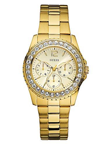 GUESS Women's Gold-Tone Multifunction Watch