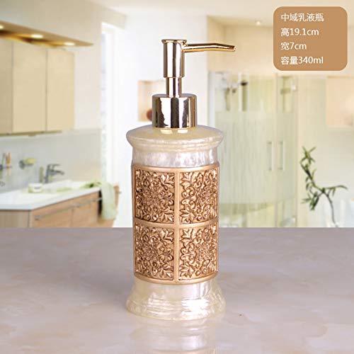 Dispensador De Jabón Mason Jar Botella De Bomba De Dispensador De Jabón Líquido Rellenable Para Encimera De Tocador De Baño Cocina-b