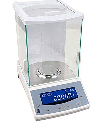 ZGUO Electrónico analítica equilibrio y precisión Digital escala 200 g/0.1mg