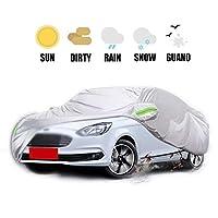車カバー カーカバー Car Cover 高品質防水スノーカバー全天候用湿気からの保護します。雪の霜の腐食塵屋外のUV保護フィットセダン - 肥厚オックスフォード布 ップ四季対応 (Color : 2019)