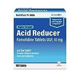 HealthCareAisle Original Strength Acid Reducer - Famotidine Tablets, USP, Prevents & Relieves Heartburn, 10 mg, 180 Count