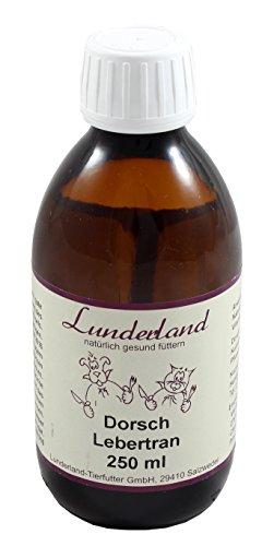 Lunderland - Dorschlebertran, 250 ml, 1er Pack (1 x 250 ml)