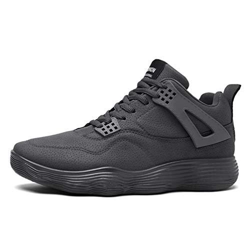 Hombres Baloncesto Zapatos cojín Deporte Populares Chicos Baloncesto Zapatillas para la Escuela