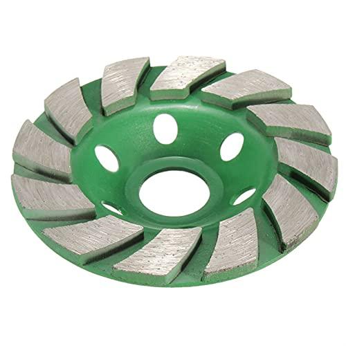 Rueda de la taza de molienda de diamante Rueda de molienda de la taza de diamante, 4 '100 mm Diamante Muela de muela de disco de disco Forma de taza de molienda para mármol de hormigón Ginding Máquina