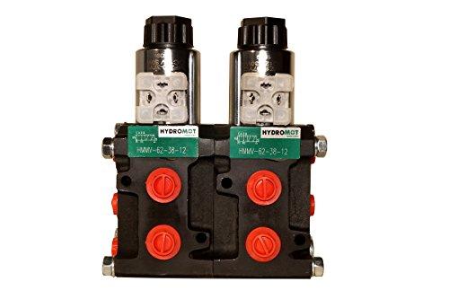 Joma-Tech Magnetventil Umschalt-/Wegeventil, 8/3, 3/8