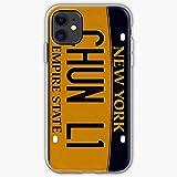 Compatible avec iPhone 12/11 Pro Max 12 Mini SE X/XS Max XR 8 7 6 6s Plus Coque Plate York NYC Minaj...