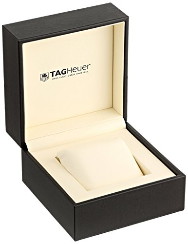 TAG Heuer Homme 43mm Bracelet & Boitier Acier Inoxydable Saphire Quartz Cadran Noir Montre...