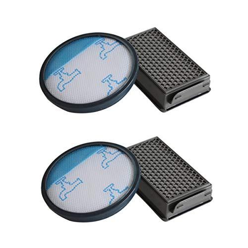 Rediboom Juego de 2 filtros HEPA para aspiradora Rowenta RO3731EA RO3753EA Compact Power Cyclonic (repuesto para Rowenta ZR005901)