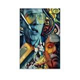 Heiwu Fear and Loathing in Las Vegas Psychedelic Poster