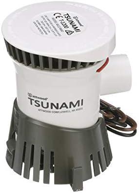 Attwood Tsunami Bilge Pump, 12-Volt, 29-Inch Wire