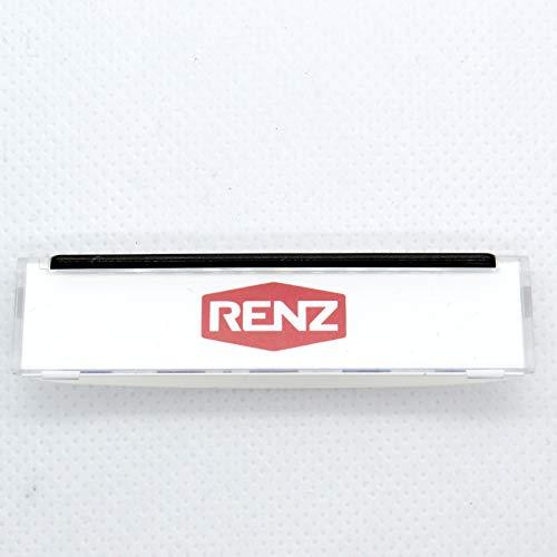 RENZ Namensschildabdeckung für Tastenmodul 62x16mm RENZ Nummer 97-9-82046
