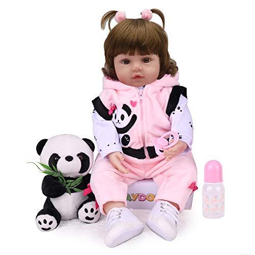 Kaydora Reborn Baby Doll,Lifelike Reborn Toddler Girl,18 inch Weighted Baby Doll