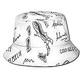 Gorra de Pescador Unisex Iconos del período Romano Antiguo César Coliseo...