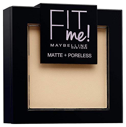 Maybelline New York Puder Fit Me! Matte + Poreless Classic Ivory 120, 9 g