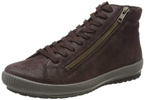 Legero Tanaro, Sneaker a Collo Alto Donna, Rosso Amarone 59, 39 EU
