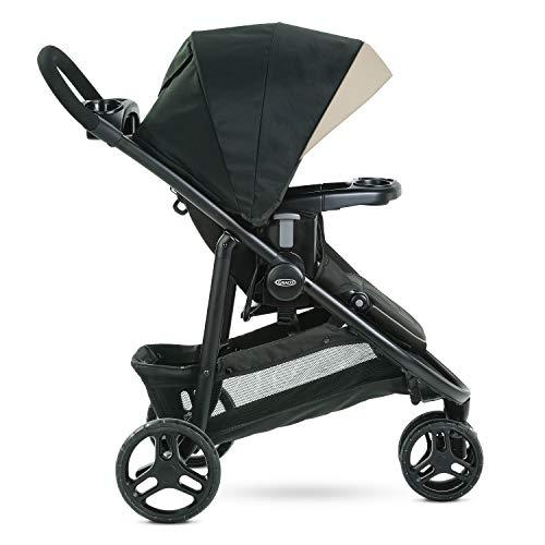 Graco Modes 3 Lite DLX Stroller, Includes Reversible Seat, Pierce