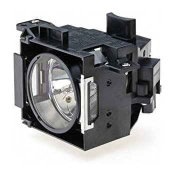 Replacement Lamp Assembly with Genuine Original OEM Bulb Inside for EPSON V13H010L46 Projector Power by Ushio