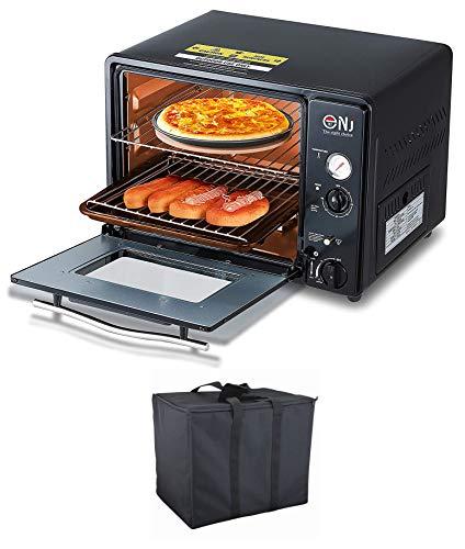 NJ GF-300 Camping Mini Gas Oven Portable Grill 30L Outdoor...