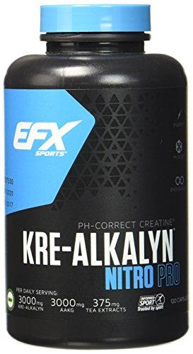 EFX Kre-Alkalyn Nitro-Pro Super Caps - 120 Kreatin Kapseln, 1er Pack (1 x 173 g)