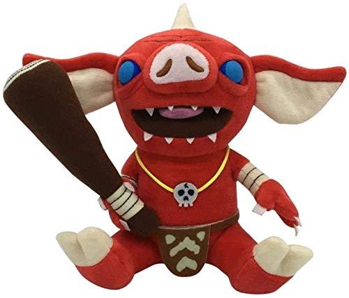 XIAN Gästehung 21cm Die Legende von Zelda Atem des Wilden Plüschspielzeugs weich Anime Plüsch Puppe Spielzeug (Farbe: Bokoblin, Höhe: 21 cm) Ymmstory (Farbe: Bokoblin, Größe: 21cm) hailing