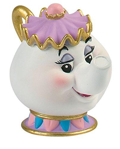 Comansi Y12474. Figura Disney Pvc. Señora Potts. Serie La Bella y la Bestia. 6 cm altura