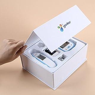 Express Panda® Sistema de salud de tres-en-uno para uso familiar (termómetro Digital, oxímetro de pulso, Monitor de presión arterial)
